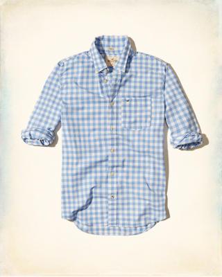 Camicia A Quadri Hollister