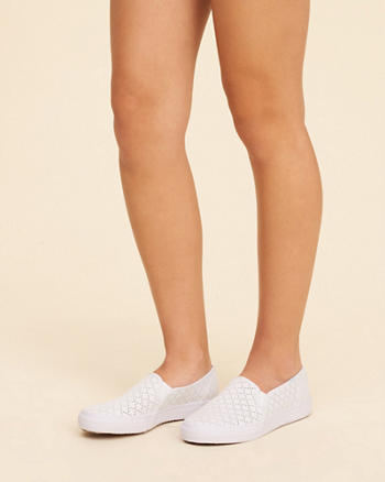 Keds Double Decker Perf Canvas Sneaker