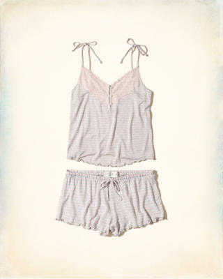 Knit Cami Sleep Set