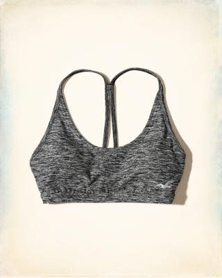 Scoop T-Back Sports Bra