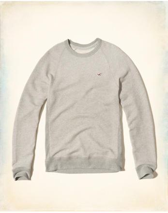 hol Textured Waffle Crew Sweatshirt