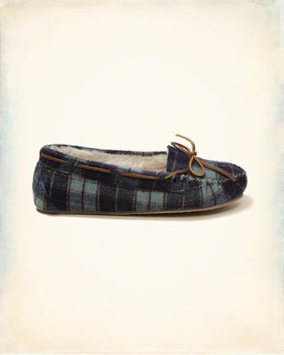 Minnetonka Plaid Cally Moccasin Slipper