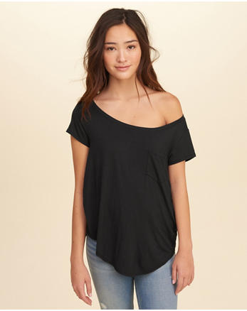 hol Must-Have On Or Off The Shoulder T-Shirt
