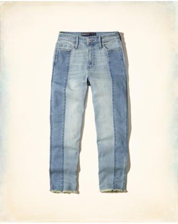hol High-Rise Slim Boyfriend Jeans