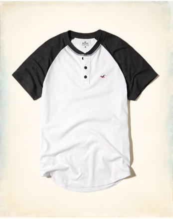 hol Must-Have Colorblock Henley
