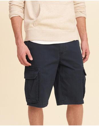 hol Hollister Cali Longboard Cargo Fit Shorts
