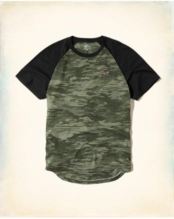 hol Must-Have Colorblock Raglan T-Shirt