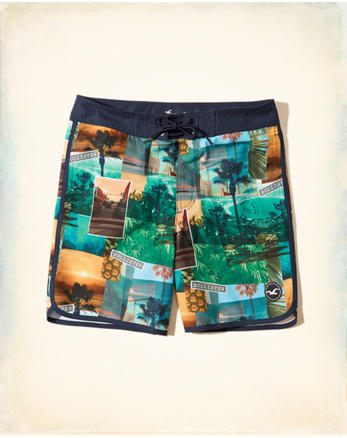 hol Beach Prep Fit Boardshorts