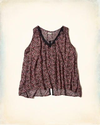 Lace-Trim Swing Tank
