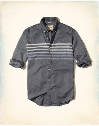hol Stretch Stripe Oxford Shirt