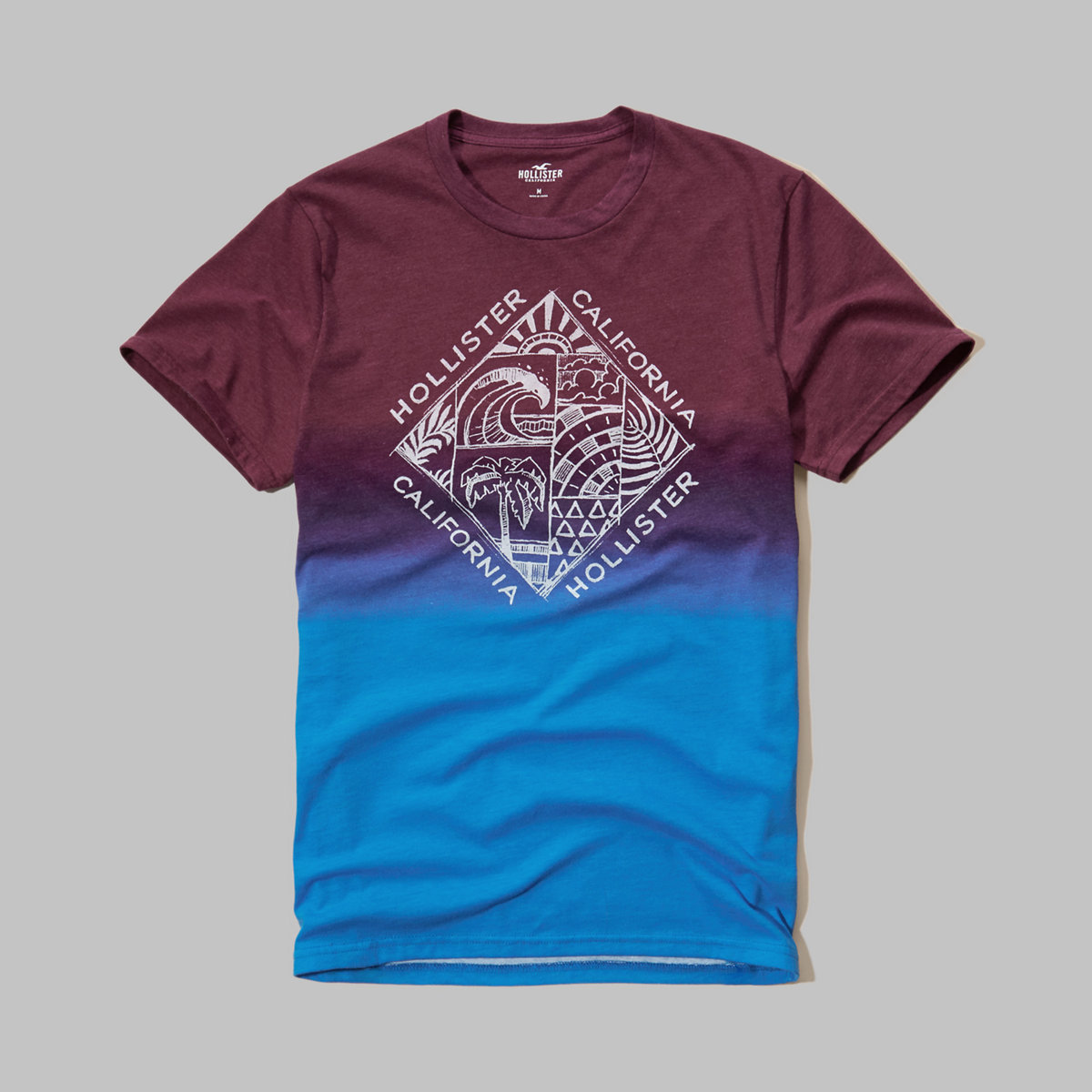 Wash Effect Graphic Tee