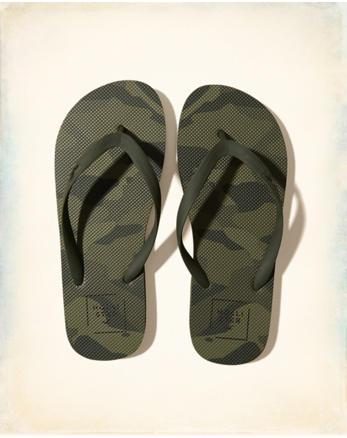 hol Graphic Flip Flops