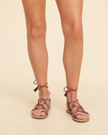 Madden Girl SAZ Lace-Up Sandal