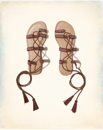 hol Madden Girl SAZ Lace-Up Sandal