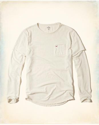 hol Layered Pocket T-Shirt