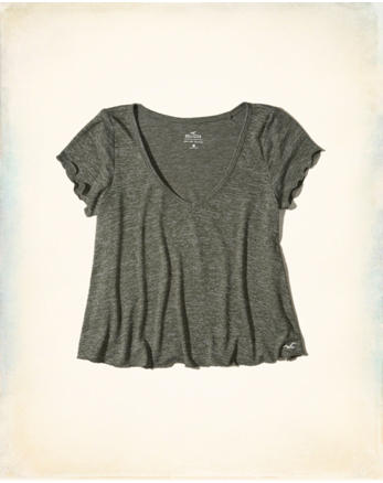 hol Must-Have Crop Easy T-Shirt