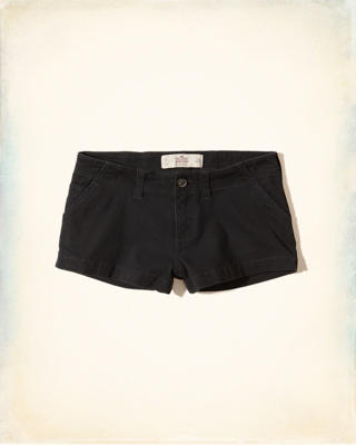 Low-Rise Chino Shorts