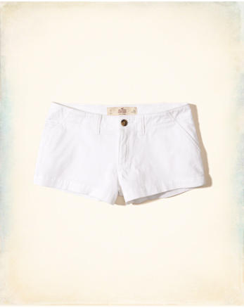 hol Low-Rise Chino Shorts
