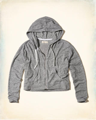 Cropped Boxy Hoodie