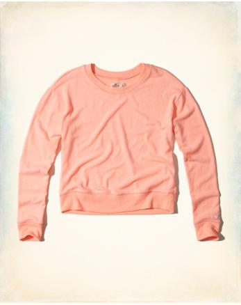 hol Crop Crew Sweatshirt