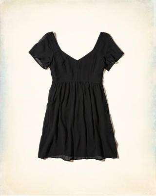 Chiffon Babydoll Dress