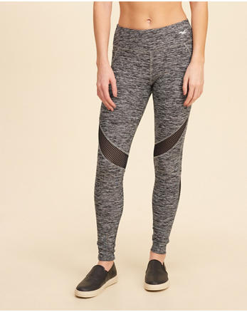 hol Mesh Active Leggings