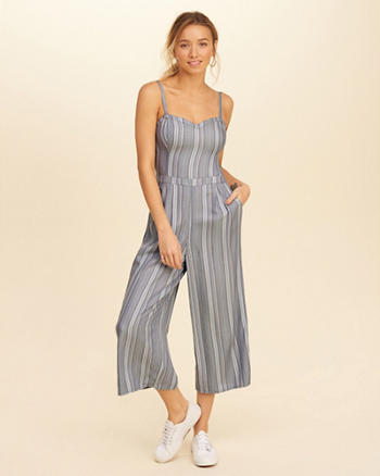 Crop Culotte Jumpsuit