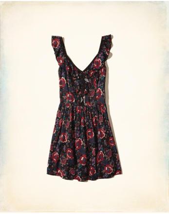 hol Ruffle Skater Dress