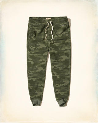 Hollister Camo Jogger Pants