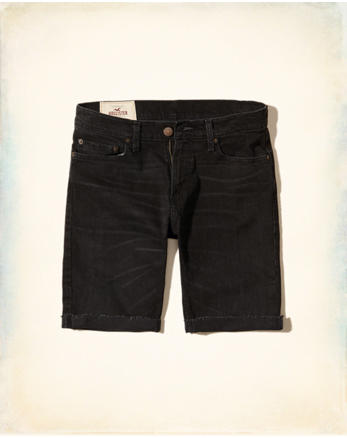 hol Skinny Denim Shorts