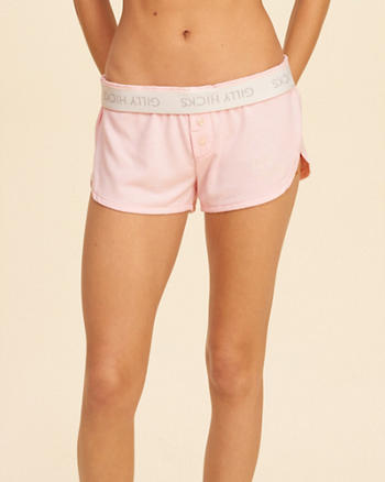 Logo Jersey Sleep Shorts