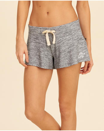 hol Cozy Logo Graphic Sleep Shorts