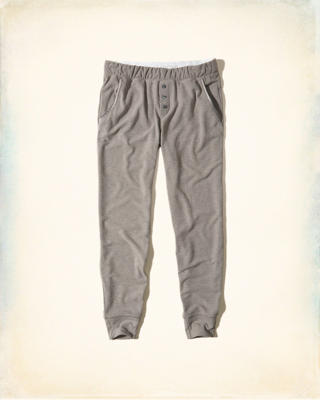 Button-Front Sleep Joggers
