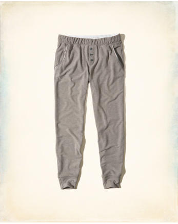 hol Button-Front Sleep Joggers