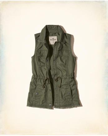 hol Military Twill Vest