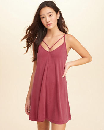 Must-Have Strappy Swing Dress
