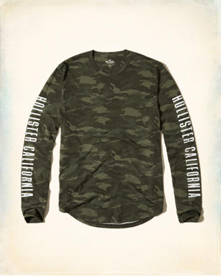 Camo Logo Graphic Tee