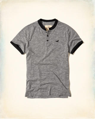 Banded Collar Icon Polo
