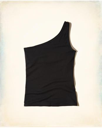 hol Slim One-Shoulder Top