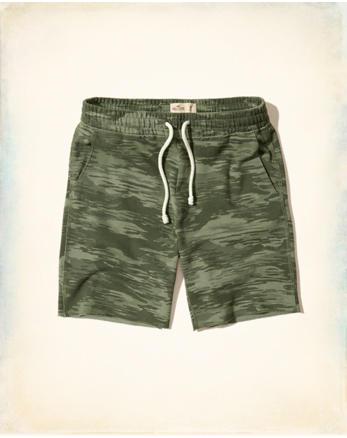 hol Camo Fleece Shorts