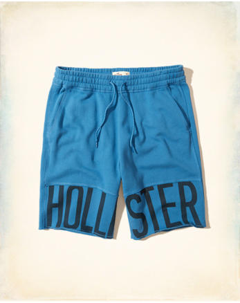 hol Hollister Cali Longboard Fit Fleece Shorts