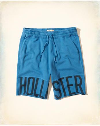 Hollister Cali Longboard Fit Fleece Shorts