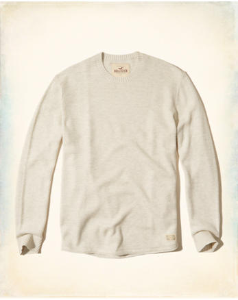 hol Textured Crew Sweater