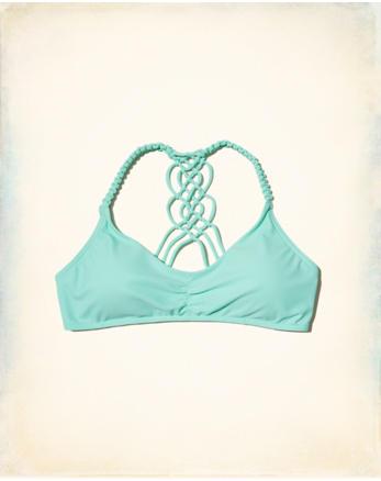 hol Racerback Scoop Bikini Top