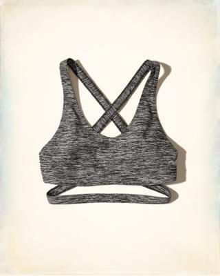 Strappy Wrap Around Sports Bra