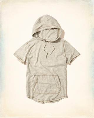 Short-Sleeve Hooded T-Shirt