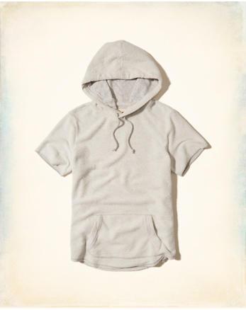 hol Short-Sleeve Terry Hoodie
