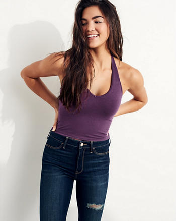 Must-Have Halter Crop Top