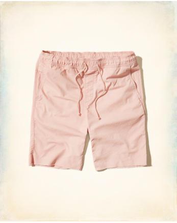 hol Twill Cutoff Jogger Shorts