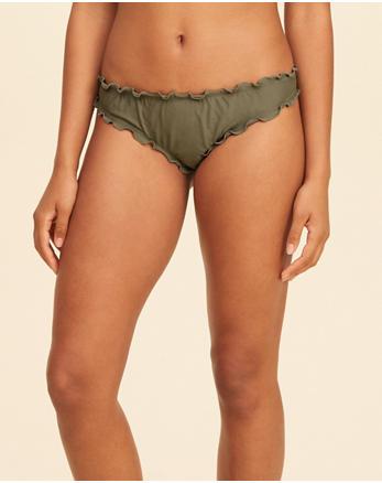 hol Super Ruffle Cheeky Bikini Bottom